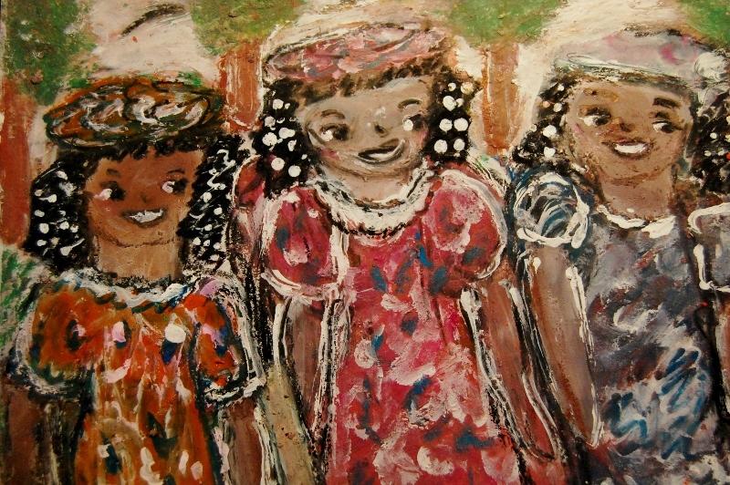 Gloria Garrett, Three Sisters, 2014