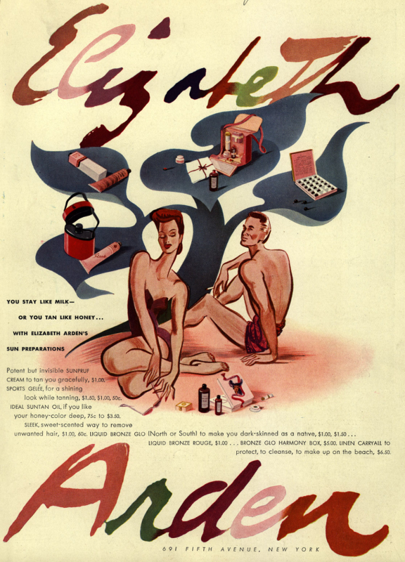 Elizabeth Arden ad, 1941
