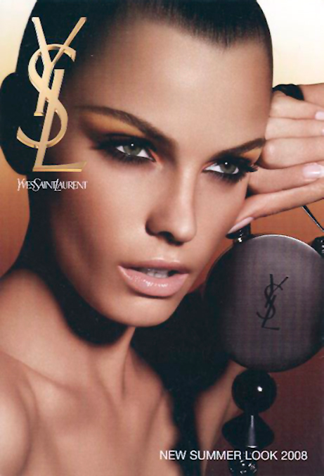 YSL summer beauty postcard, 2008