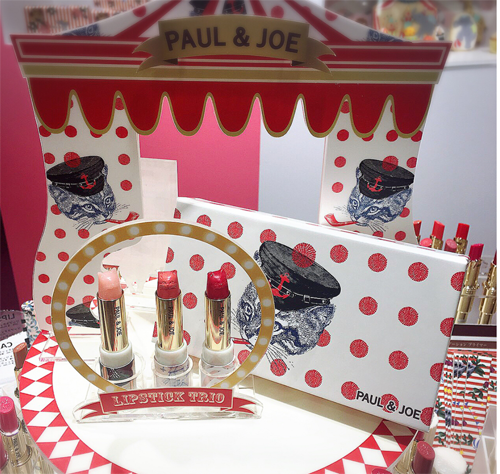 Paul & Joe Isetan circus event display