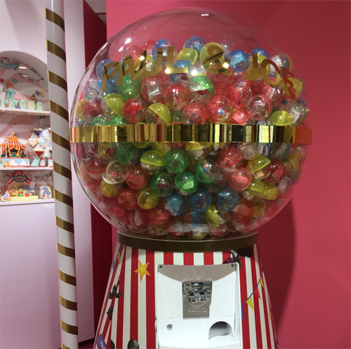 Paul & Joe Isetan circus event - gumball machine
