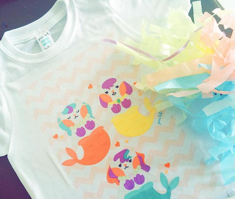 Poni Lab purrmaids t-shirt