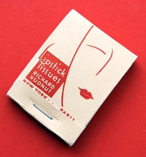 Richard Hudnut lipstick tissues