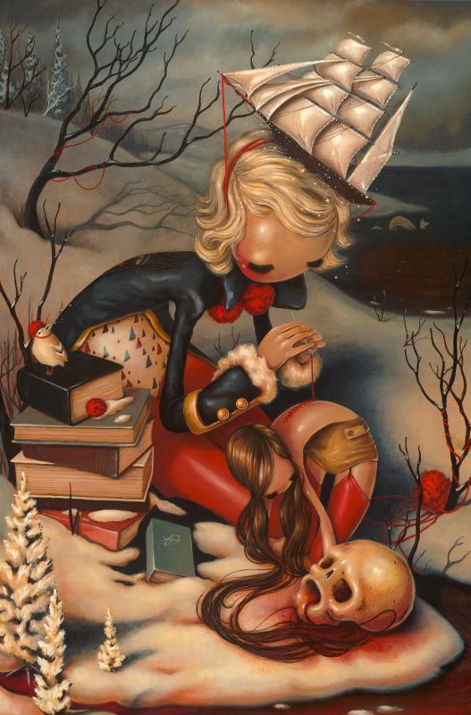 Brandi Milne, Hold Fast, 2014