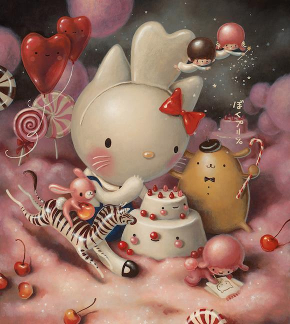 Brandi Milne, Eat Cakes, You Kitty, 2014