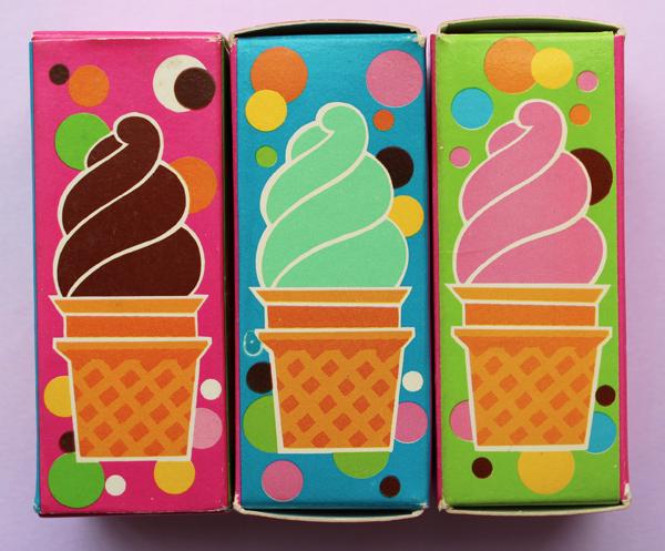 Avon ice cream lip glosses