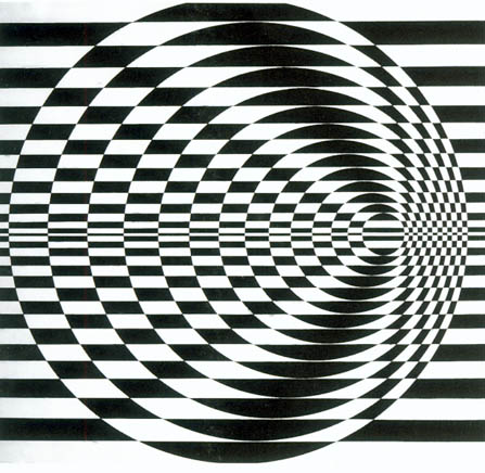 Bridget Riley - Britannia, 1961