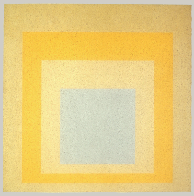 Josef Albers, Homage to the Square: With Rays, 1959