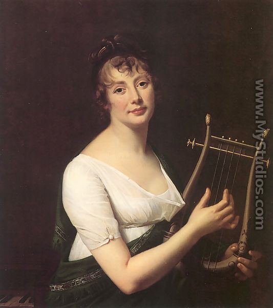 Robert LeFevre, Woman with a Lyre, 1808