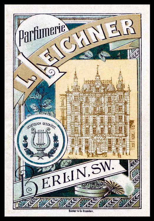 Vintage Leichner ad