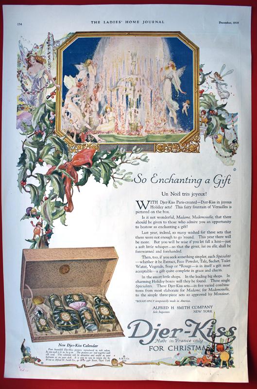 Djer Kiss ad, 1919