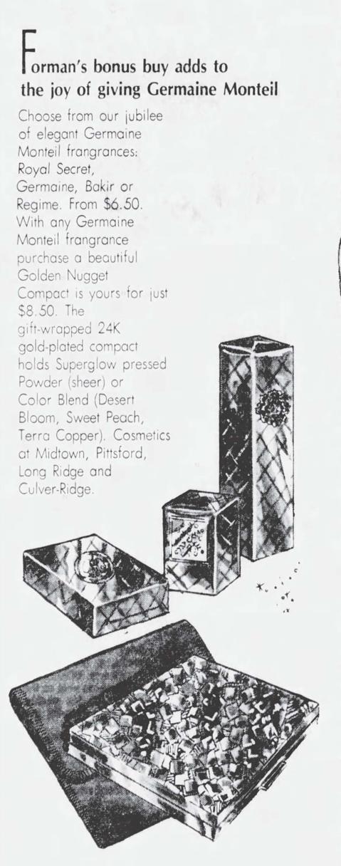 1977 Germaine Monteil ad