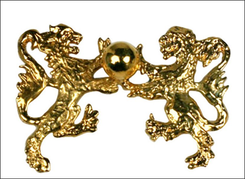 Chanel lion brooch, 1960s