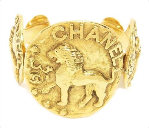 Chanel lion bracelet, 1992
