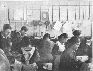 Employees at Tommy Lewis's company