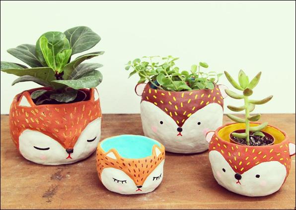 Polkaros - fox planters