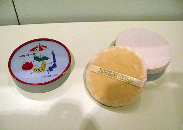 Jacqueline Cochran face powder box designed by Paul Rand