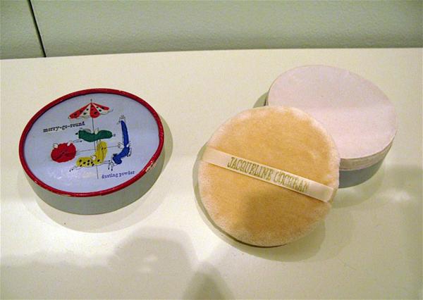 Jacqueline Cochran face powder box designed by Paul Rand