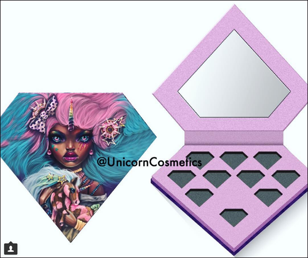 Unicorn Brushes palette