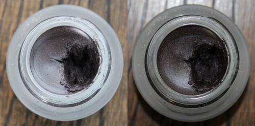 Bobbi Brown Black Mauve shimmer gel liner