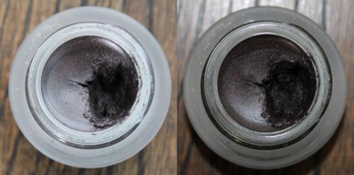 Bobbi Brown Black Mauve shimmer gel liner