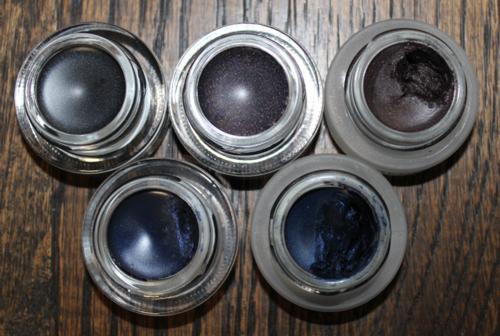 Bobbi Brown gel eyeliners