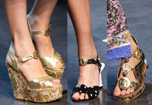 Dolce & Gabbana spring 2014 ready-to-wear - shoes