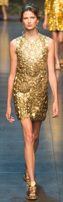 Dolce & Gabbana spring 2014 ready-to-wear dress