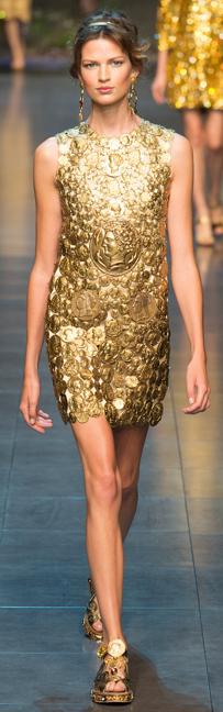 Dolce & Gabbana spring 2014 ready-to-wear dress