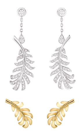 Chanel Plume earrings