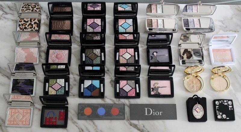 The Makeup Museum - Dior palettes