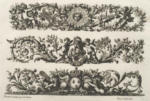 Work by 17th century ornamental engraver Jean Lepautre