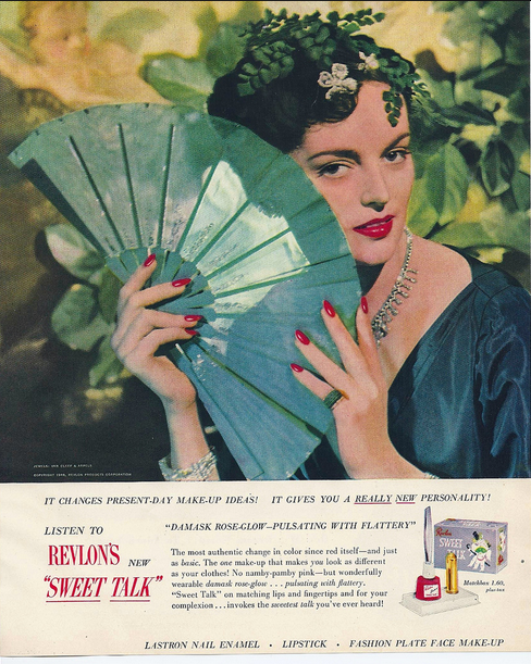 Revlon ad, 1948