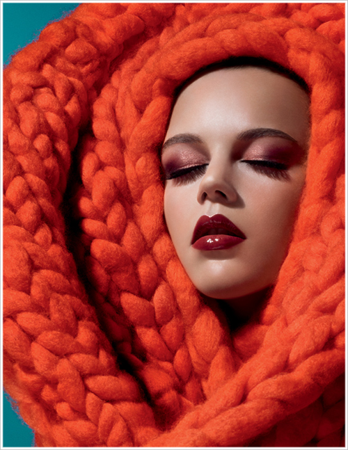 MAC Apres Chic collection ad, 2013