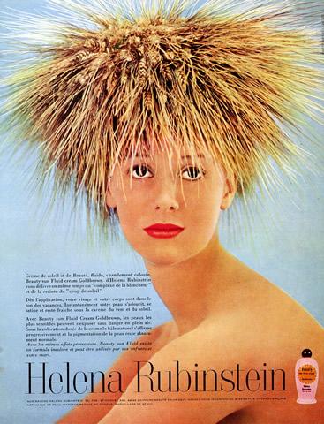 Helena Rubinstein ad, 1960