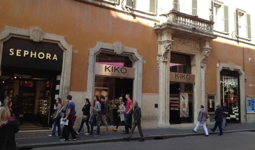 Makeup-stores