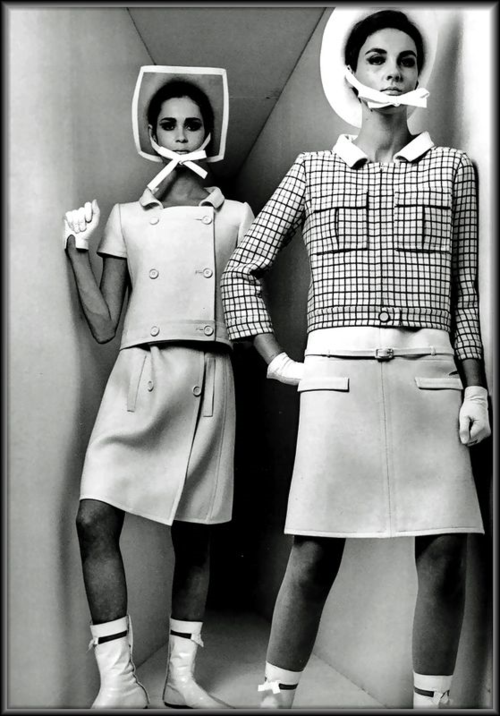 André Courrèges, early 60s fashion