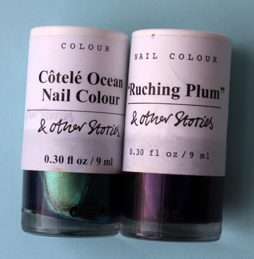 & Other Stories nail polishes