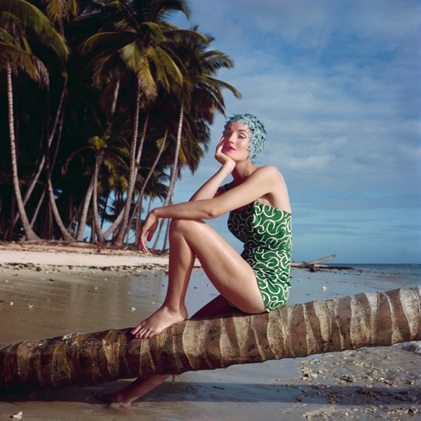 Norman Parkinson - Wenda Parkinson in Tobago, 1956
