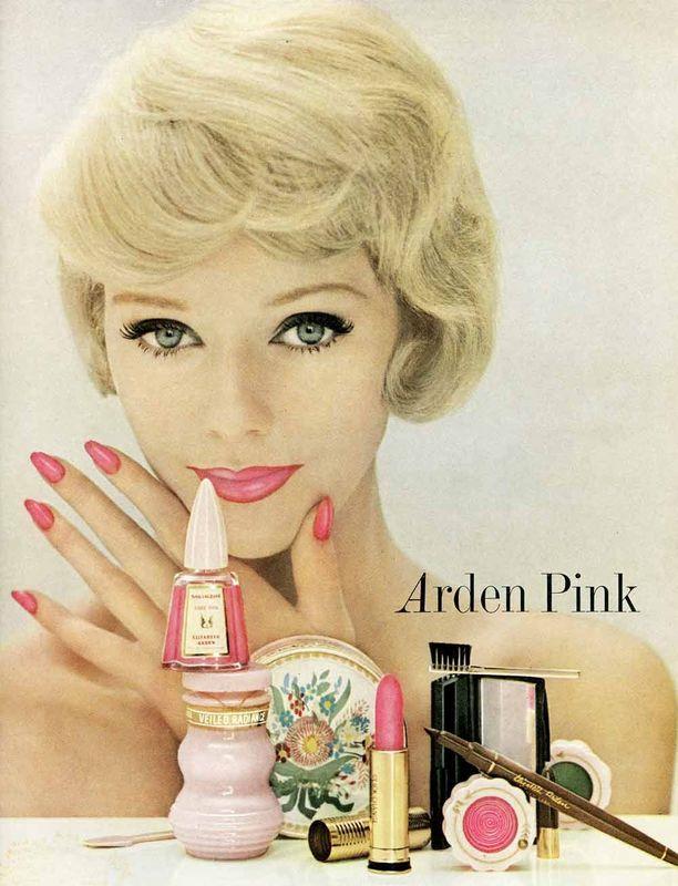 Elizabeth Arden ad, 1960