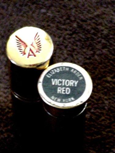 Elizabeth Arden Victory Red lipstick