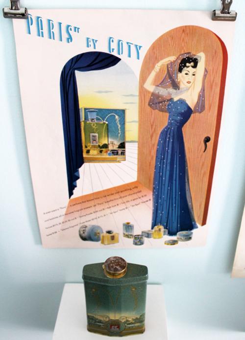 Coty Paris ad, 1941