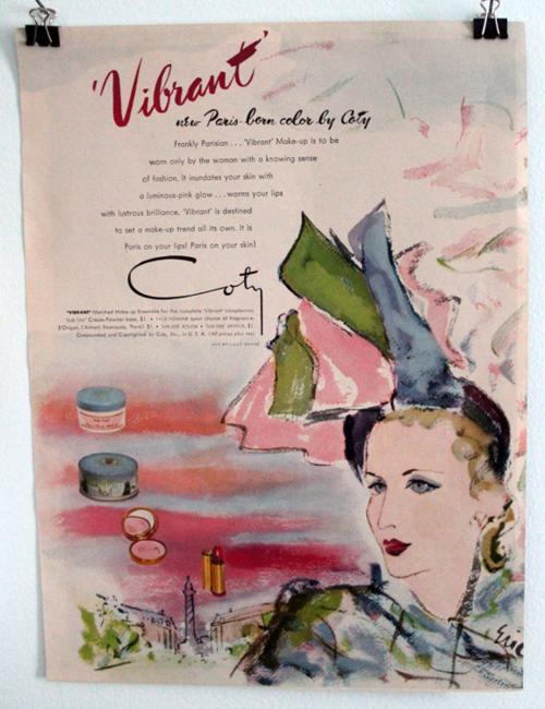 Coty Vibrant ad, 1946