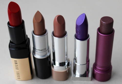 Fall 2015 lipstick haul