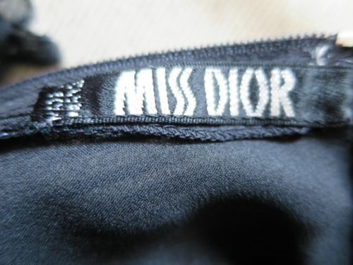 Miss Dior black dress tag