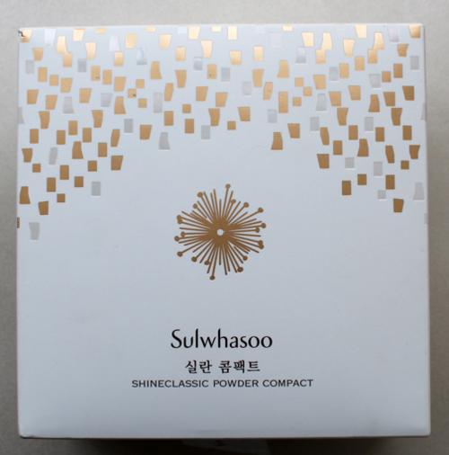 Sulwhasoo holiday 2014 Shine Classic compact