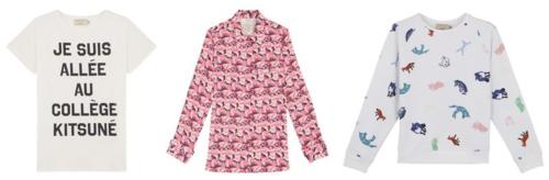Maison Kitsune shirts