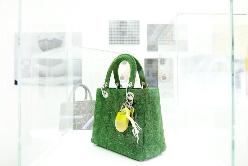 Azuma Makoto - Dior Lady Dior bag, 2012