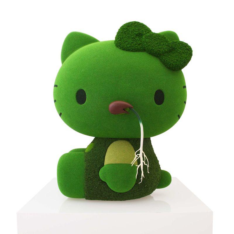 Azuma Makoto - Moss Hello Kitty, 2011
