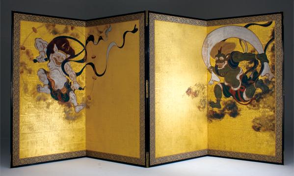 Hiroto Rakusho, Wind and Thunder Gods